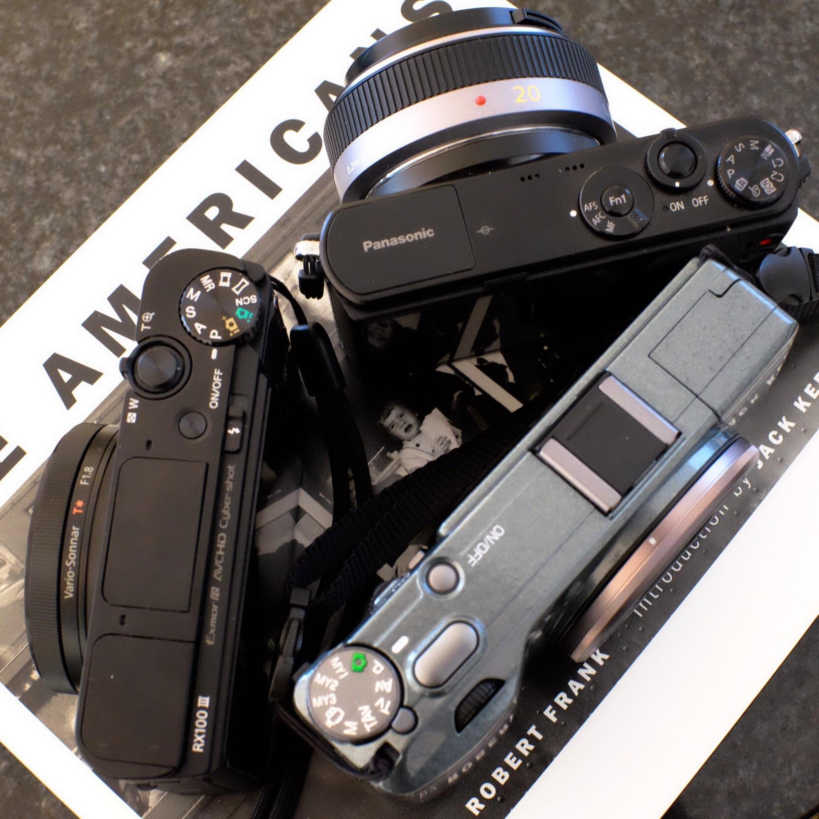 Sony RX100M3 Panasonic GM-1 Ricoh