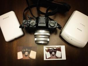 Instax SP-1 vs Polaroid Zip