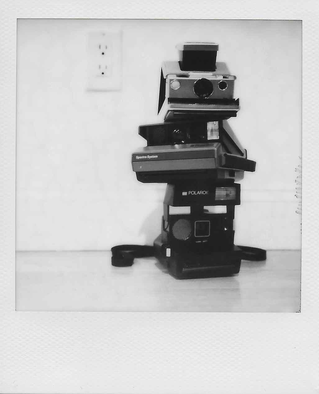 SX70 Spectra Polaroid 600