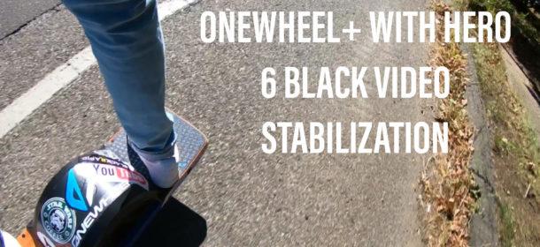 OneWheel+ Hero 6 Black